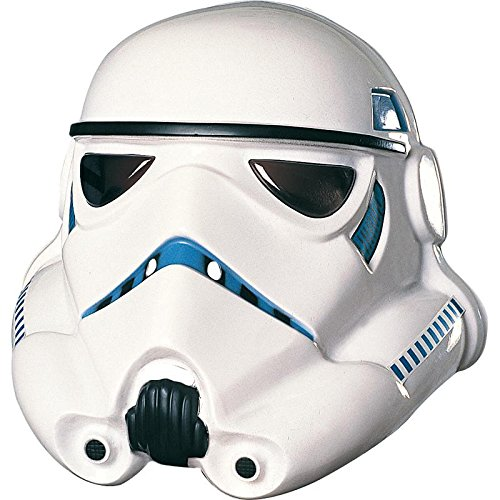 Rubie's Men's Star Wars White Stormtrooper Mask - One Size, 10' x 10' x 4'
