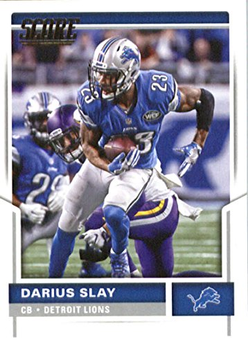 2017 Score #297 Darius Slay Detroit Lions Football Card