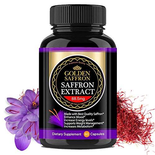 Golden Saffron, Saffron Extract 8825 (Vegetarian) - Best All Natural...