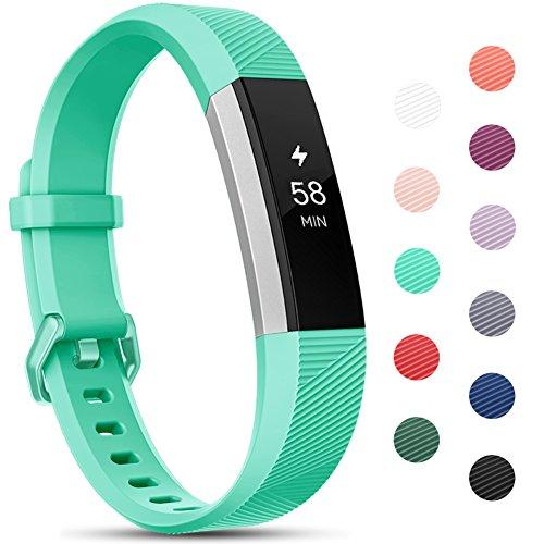 Onedream Compatible para Fitbit Alta HR Correa/Alta Strap/Ace Pulsera Mujer Hombre Recambio Silicona Correa Teal