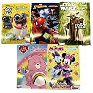 Kids 128p. Coloring Book Variety Pack (Bundle of 5 Assorted)