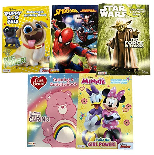 Why Choose Kids 128p. Coloring Book Variety Pack (Bundle of 5 Assorted)