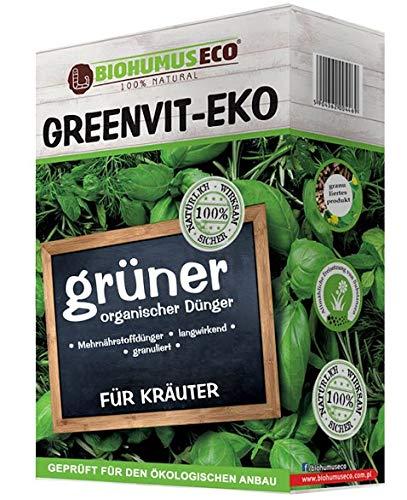 GREENVIT-EKO - Kräuterdünger in Weiß