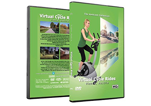 Virtual Cycle Rides DVD - Vienna, Austria - for Indoor Cycling, Treadmill and Running Workouts
