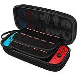 JEDirect Nintendo Switch ケース 耐衝撃 収納バッグ ブラック