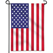Anley |Double Sided| Premium Garden Flag, USA United States Decorative Garden Flags - Weather Resistant & Double Stitched - 18 x 12.5 Inch