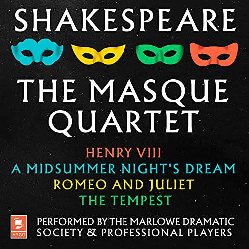 『Shakespeare: The Masque Quartet: Henry VIII, A Midsummer Night's Dream, Romeo and Juliet, The Tempest』のカバーアート