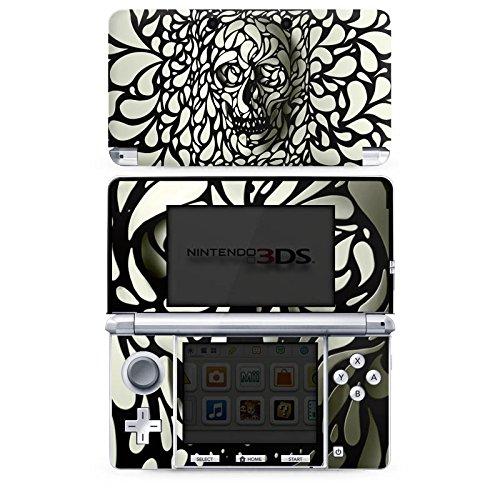 DeinDesign Skin kompatibel mit Nintendo 3 DS Folie Sticker Totenkopf Muster Totenköpfe