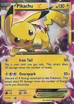 Pokemon - Pikachu-EX  XY84  - XY Black Star Promos - Holo