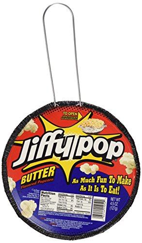 Jiffy Pop Butter Popcorn, 4.5 oz (Pack of 5)