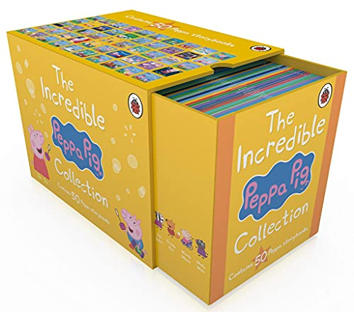 The Incredible Peppa Pig Storybooks Collection 50 Books Box Set