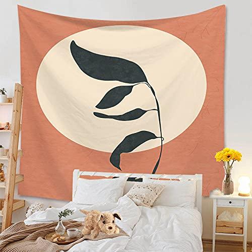 KHKJ Neue Sonne Blätter Tapisserie Kopfteil Wandkunst Tagesdecke Wohnheim Tapisserie für Wohnzimmer Schlafzimmer Wohnkultur A1 95x73cm