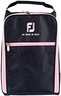 Genuine Golf Shoes Bag Zipped Sports Bag Shoe Case - Pink Color