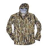 Duck Camp Hunting and Fishing 3L Ultralight Rain Jacket - Early Season Woodland Camouflage