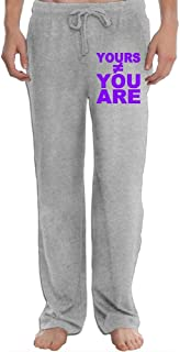 Yours Not You are Men's Sweatpants Lightweight Jog Sports Casual Trousers Running Training Pants
