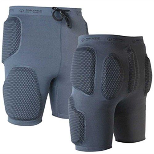 FORCEFIELD Action Shorts Sport Protektorenhose, Farbe grau, Größe XS