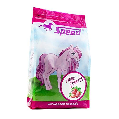 Speed HelloSpeedis Erdbeere – Pferdeleckerlis, das gesunde Leckerli für die Belohnung mit wichtigen Vitaminen (1 Kg)