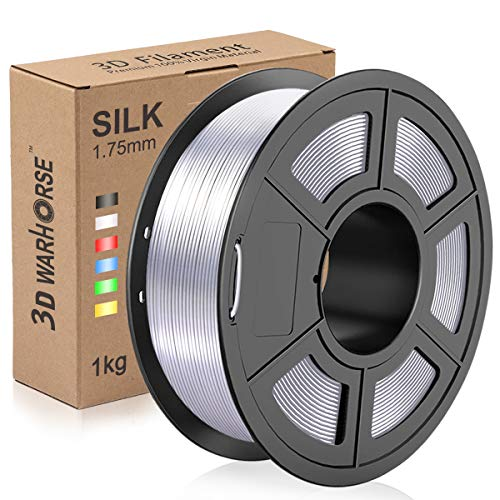 Silk PLA Plus Filament, 1.75mm 3D Printer Filament, Shiny
