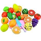 Juego de Corte de Frutas Juego de Roles Pretender Juguete de Comida Vegetal de Frutas Reutilizable