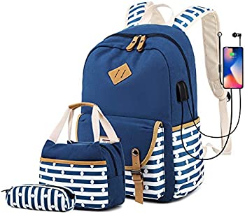 Misognare Girl's School Backpack Set