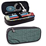 XCNGG Flower Pencil Case, Spring Meadow Environmental Zipper Bag for Pens, Pencils, Highlighters, Gel Pen, Markers, Eraser and Other School Supplies 8'x3.5'x1.5'