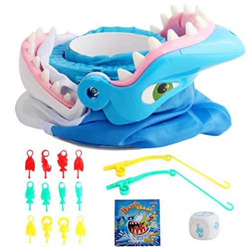 Tiburón Tricky Toy Shark Bite Juego de Mesa Trampas Juego de Pesca Tiburones creativos Dientes Que muerden los Dedos Fiesta Escritorio Juego complicado Juguetes interactivos