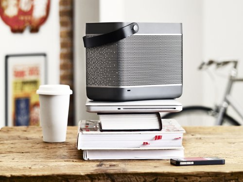 512MJ6LP2SL - B&O Play Beolit 12 Lautsprecher dunkel grau