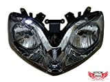 VITCIK Motorcycle Headlight Assembly for CBR600F4i 2001-2007 CBR600 F4i 01 02 03 04 05 06 07 Head Light Lamp Assembly Kit (Black)