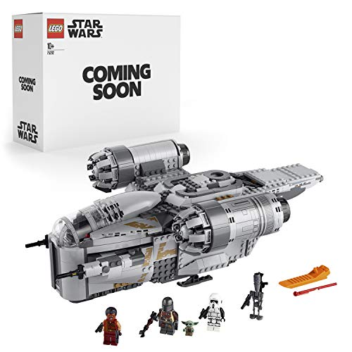 """LEGO 75292 Star Wars The Razor Crest Starship Toy with The Mandalorian and The """"Baby Yoda"""" Minifigures (Exclusive to Amazon)"""
