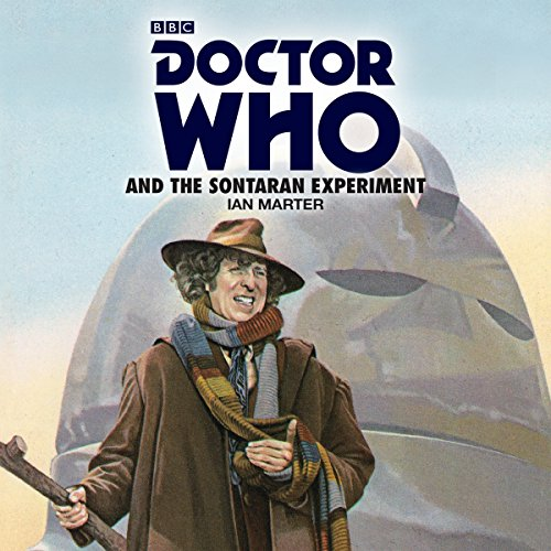Doctor Who and the Sontaran Experiment audiobook cover art
