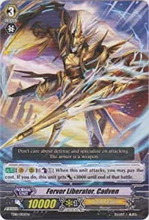 Cardfight!! Vanguard TCG - Fervor Liberator, Cadven (TD16/002EN) - Trial Deck 16: Divine Judgement of the Bluish Flames