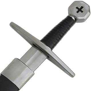 Medieval Warrior Crusader Holy Cross Knights Templar Long Sword Carbon Steel Razor Sharp