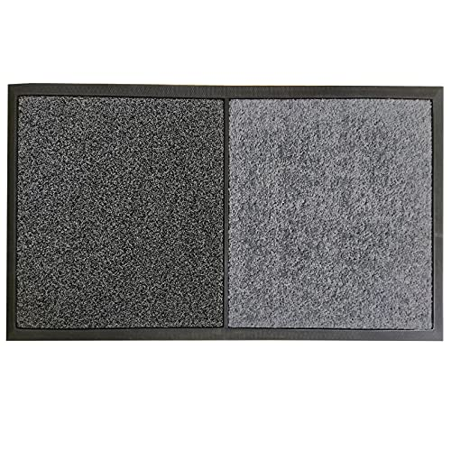 2 in 1 Disinfecting Sanitizing Floor Entrance Mat, Disinfection Doormat Entry Rug Shoe sanitizer, Shoe Tray for entryway Indoor,Welcome Mat