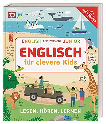 Englisch für clevere Kids: Lesen, Hören, Lernen. Mit kostenlosen Audio-Daten (App und Online)