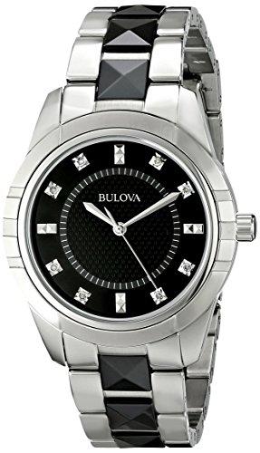 Bulova Women's 98P136 Diamond Dial Watch