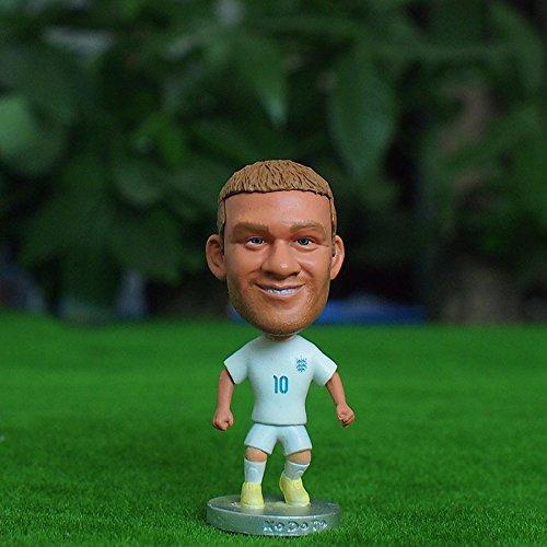 "England Wayne Rooney #10 Toy Figure 2.5"""