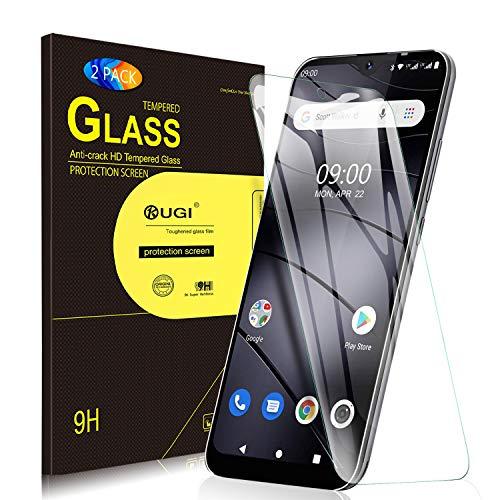 KuGi. Panzerglasfolie Schutzfolie für Gigaset GS110, 9H Hartglas HD Glas Blasenfrei Displayschutzfolie passt für Gigaset GS110 Smartphone. Klar [2 Pack]