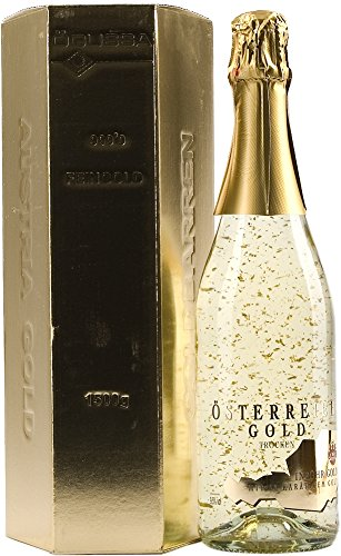 Austria Oro–con 23quilates con oro regalo del paquete, 750 ml