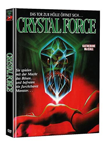 Crystal Force - Mediabook - Limited Edition auf 111 Stück (+ Bonus-DVD mit weiterem Horrorfilm)