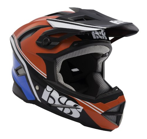 IXS Helm Metis Addict, rot-schwarz-blau, 61-62cm, 470-510-3321-002-XL