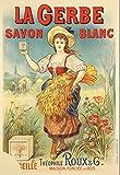 La Gerbe Savon Marseille Poster Reproduktion, Format 50 x