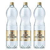 Agua destilada 4,5 L (3 botellas x 1,5 L) 100% agua destilada de vapor pura, TDS 000 ppm, sin BPA