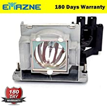 Emazne VLT-EX100LP Professional Projector Replacement Compatible Lamp with Housing for Mitsubishi ES10U Mitsubishi ESD10U Mitsubishi DX320 Mitsubishi HD400U Mitsubishi EX100U 180 Days Warranty