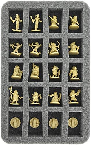HS035MM01 35 mm Half-Size Schaumstoff kompatibel mit 20 Maus und Mystik Figuren