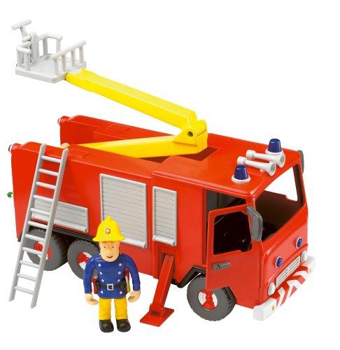 Fireman Sam - Fire Engine friction avec Sam Figure