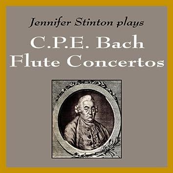 Jennifer Stinton plays C. P. E. Bach Flute Concertos