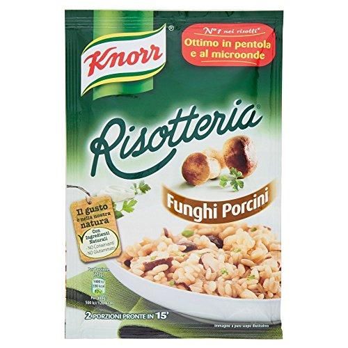 15x Knorr Risotto Funghi Reis Steinpilze 175g 100% italienisch Fertiggerichte