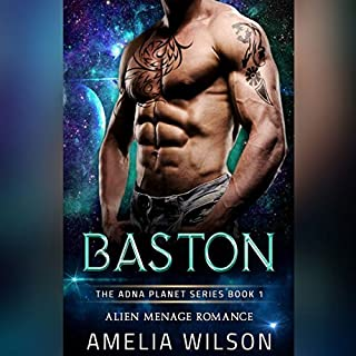 Baston: Alien Menage Romance     The Adna Planet Series, Book 1              De :                                                                                                                                 Amelia Wilson                               Lu par :                                                                                                                                 Erin Coker                      Durée : 1 h et 40 min     Pas de notations     Global 0,0