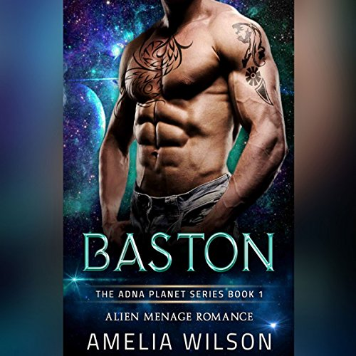 Baston: Alien Menage Romance audiobook cover art