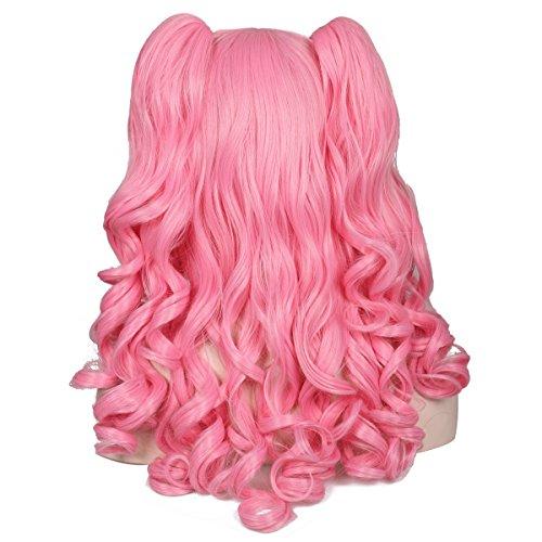 Rose quartz cosplay wig _image0